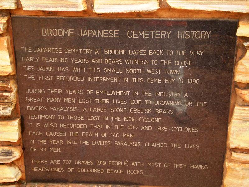 Photo by Japanese Cemetery, Broome by Tony Bowden, on Flickr