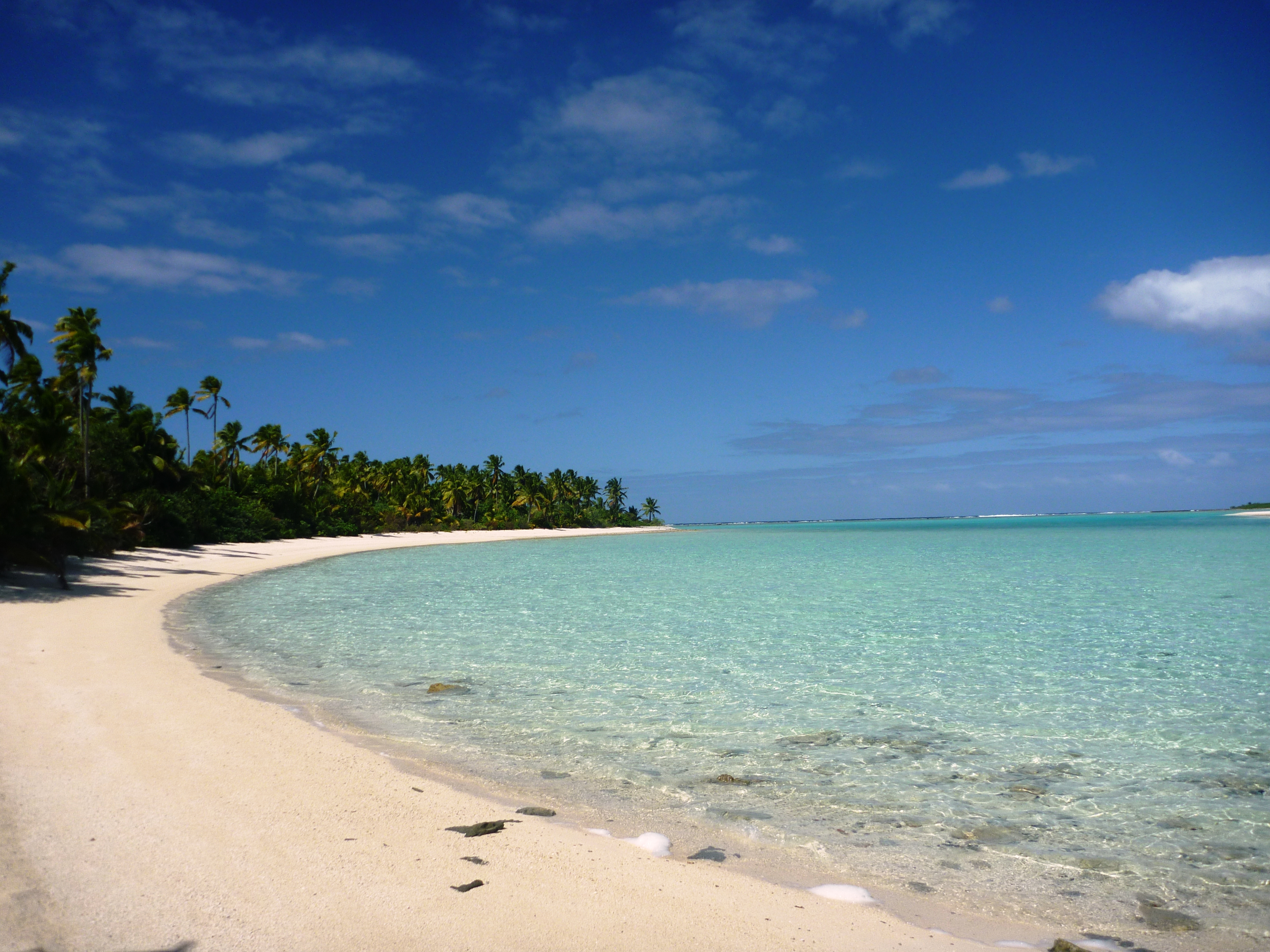 地上最後の楽園、クック諸島!普通の南の島では絶対に見れない絶景ビーチと島の魅力
