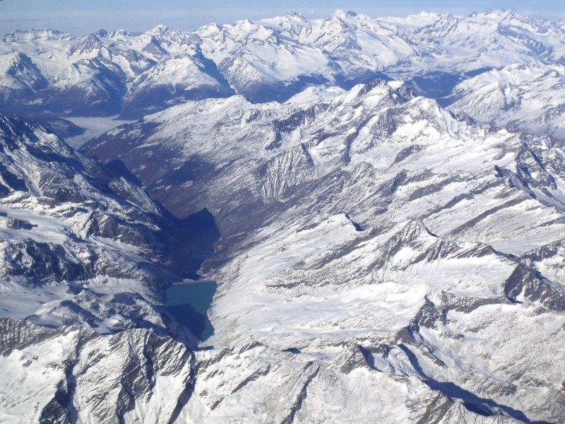 見えたらラッキー!飛行機から見えるヨーロッパの思わぬ絶景