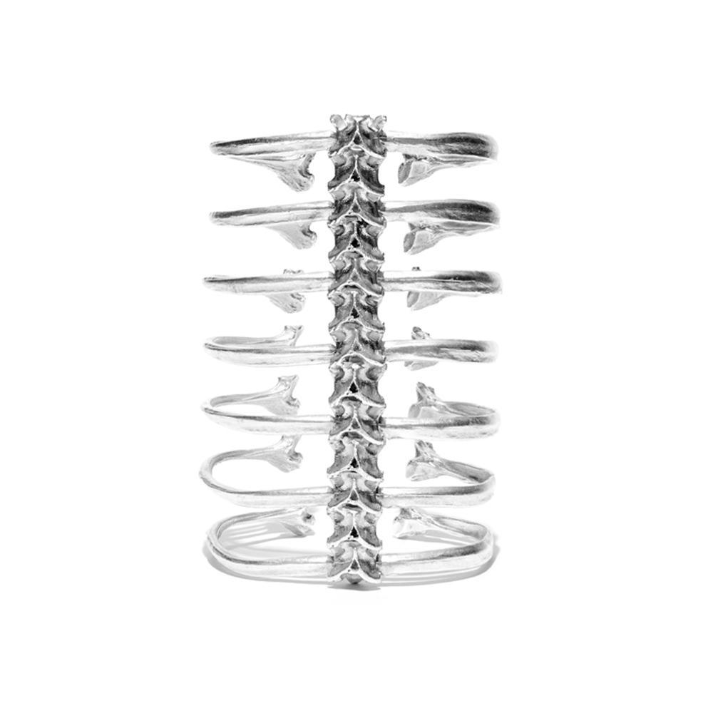 7 Ribs Spine Bracelet by Ayaka Nishi