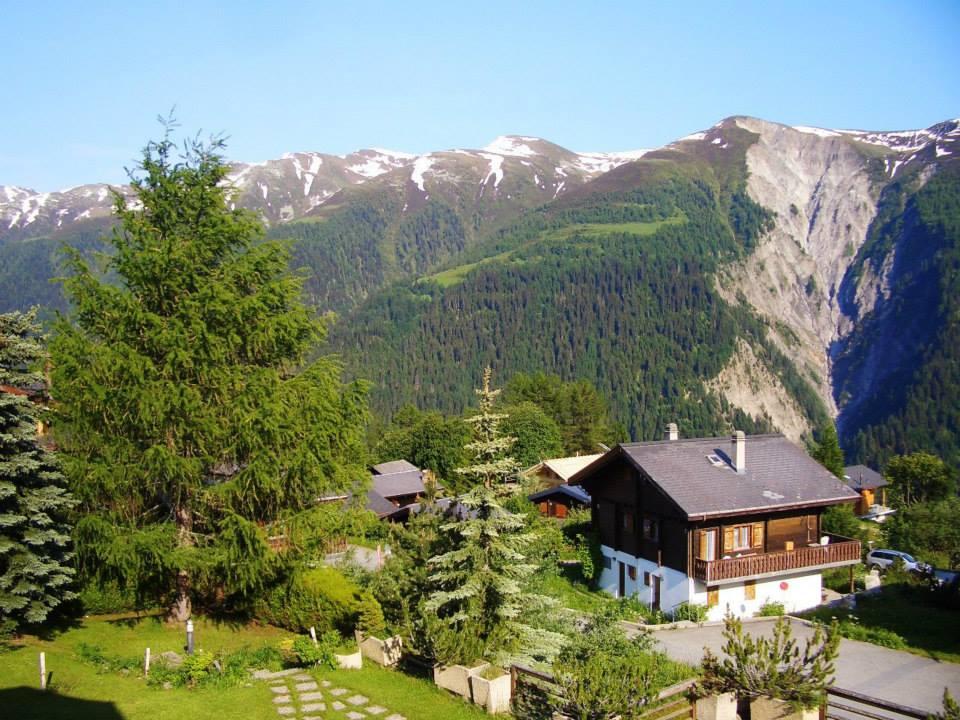 ハイジの気分になれる!スイスの大自然に囲まれた村ベルヴァルト