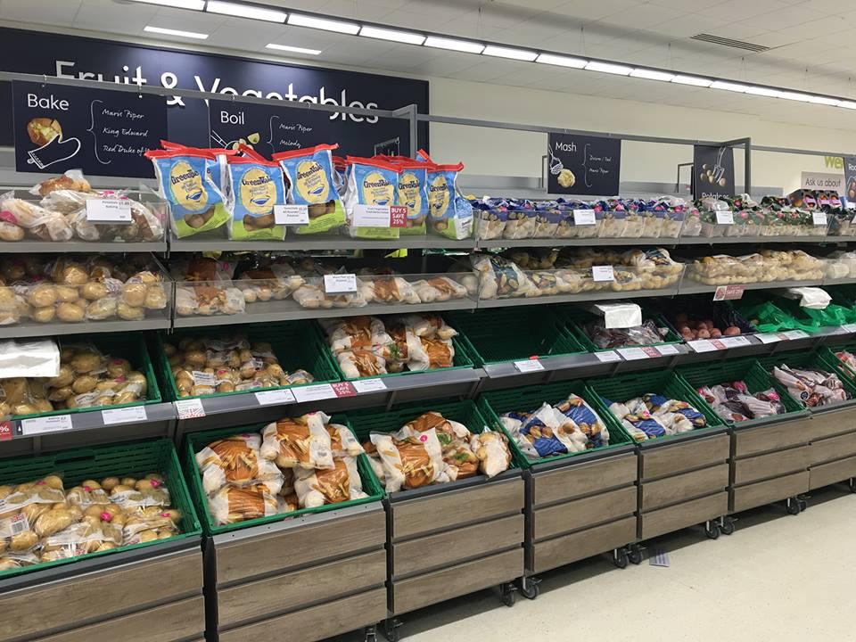 イギリスの楽しいスーパーマーケット探検 ~野菜編~