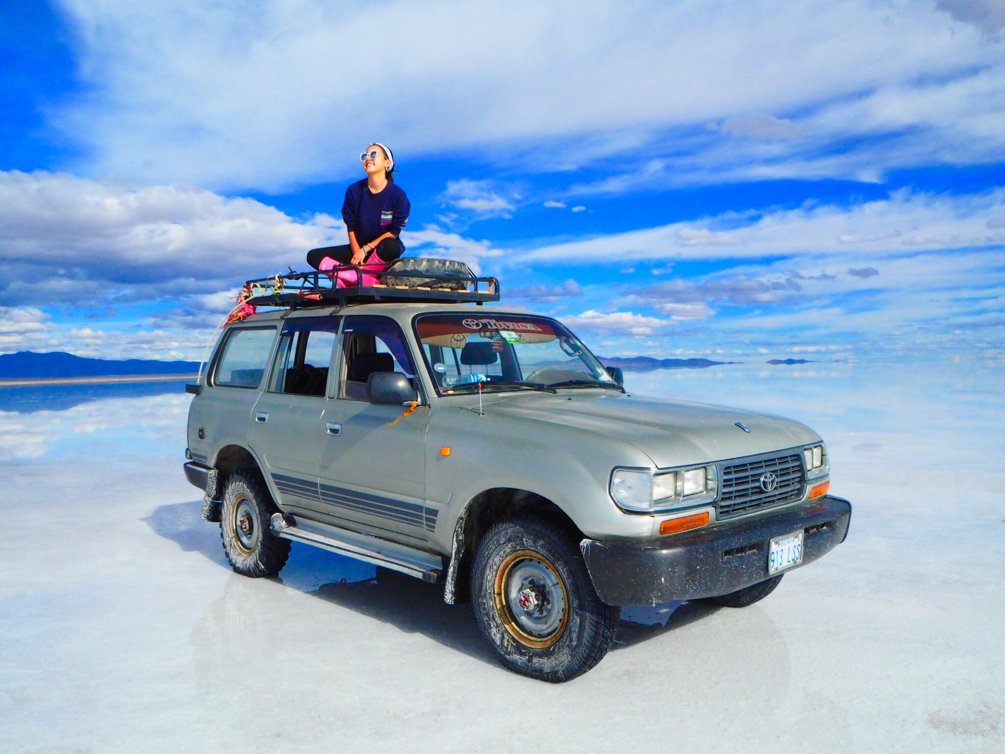 一生に一度は行きたいウユニ塩湖