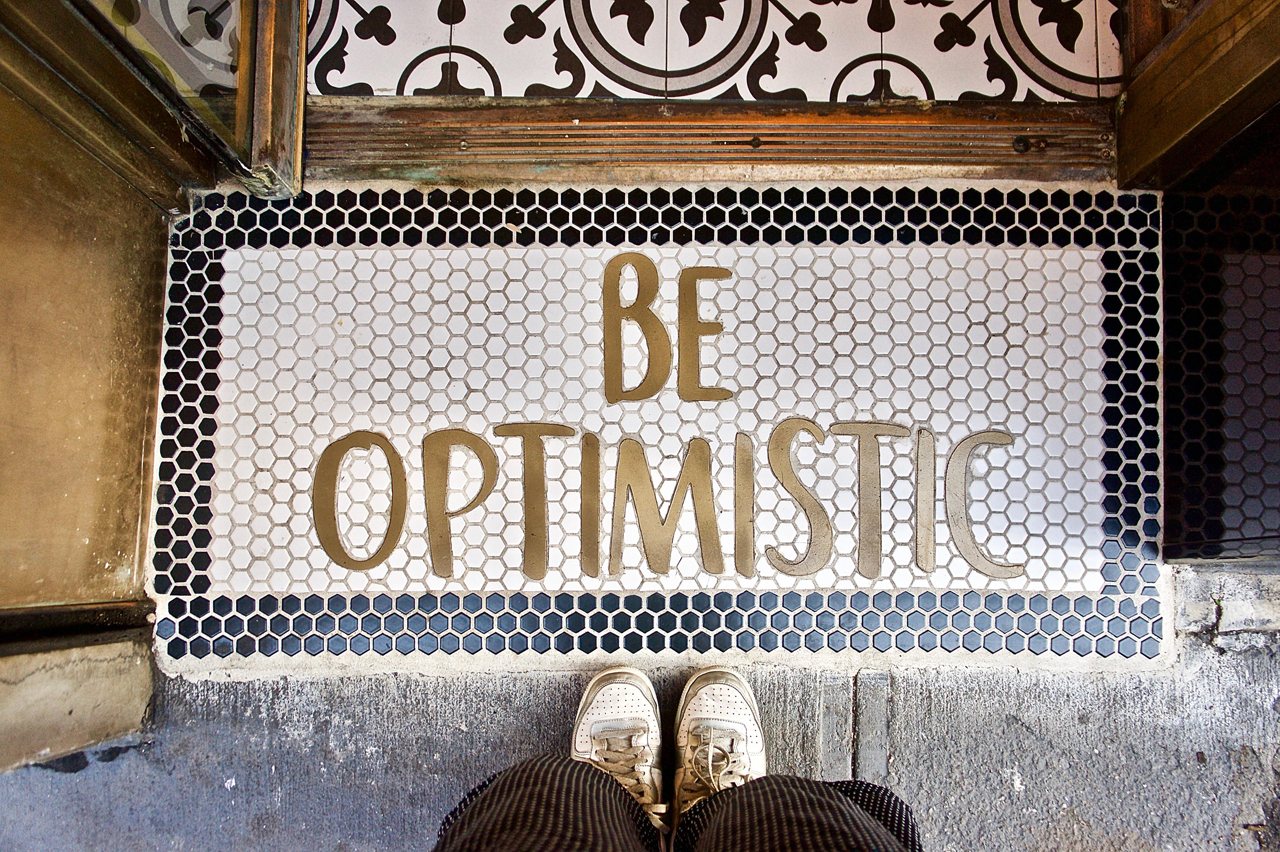 楽観的=ポジティブ